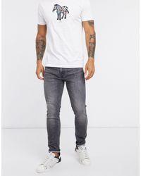 Levi's 519 Hi-Ball - Jean skinny - délavé - Noir