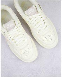 Nike - Нечисто Белые Кроссовки С Бежевыми Вставками Air Force 1 Shadow-светло-бежевый Цвет - Lyst