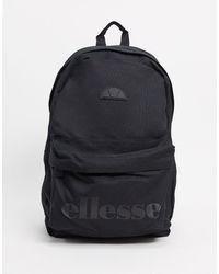 Ellesse Monochrome Logo Backpack - Black