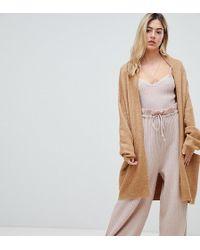 Micha Lounge Cardigan drapé - Neutre
