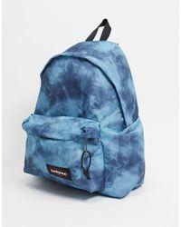 Eastpak – Gepolsterter Backpack - Blau