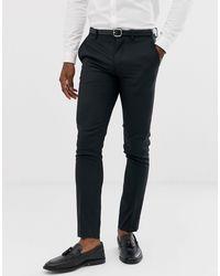 Jack & Jones - Черные Облегающие Эластичные Брюки Premium-черный - Lyst