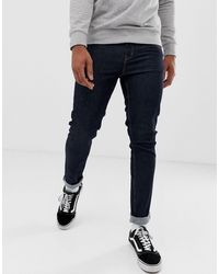 Cheap Monday Strakke Skinny Jeans - Blauw