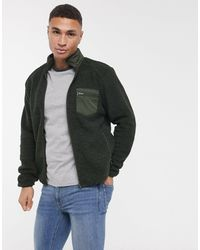 Produkt Borg Jacket-navy - Green