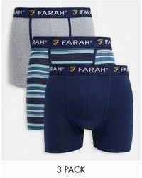 Farah Lot - Bleu