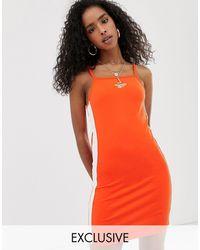 Reebok Оранжевое Платье Мини Эксклюзивно Для Asos-оранжевый