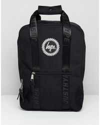 Hype - Black Boxy Backpack - Lyst