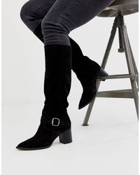 Free People Dahlia - Stivali flosci al polpaccio - Nero