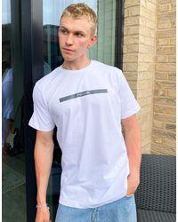 Nicce London Camiseta blanca Element - Blanco