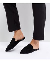 ASOS - Mouse Wide Fit Pointed Mules - Lyst