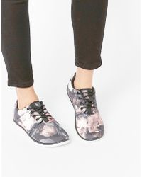 Blink - Floral Print Runner Trainers - Lyst