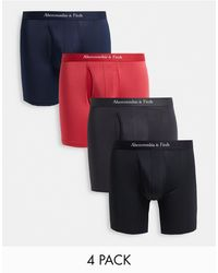 Abercrombie & Fitch 4 Pack Trunks - Multicolour