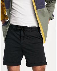 Pull&Bear Chino Shorts - Black