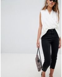 Glamorous Cropped Jeans - Black