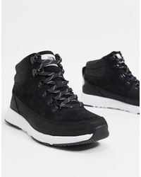 The North Face Черные Ботинки Back-to-berkeley Redux Lux-черный