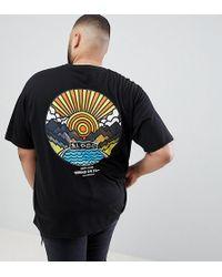 Friend or Faux - Plus Wakayama Back Print T-shirt - Lyst