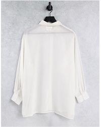 Native Youth - Прозрачная Рубашка В Стиле Oversized -белый - Lyst