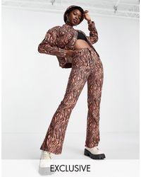 Reclaimed (vintage) Pantalones - Multicolor