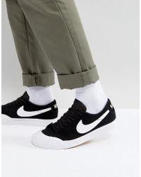Nike - Blazer Zoom Low Xt In Black 864348-019 - Lyst