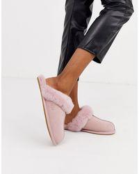 UGG Розовые Слиперы Scuffette Ii-розовый