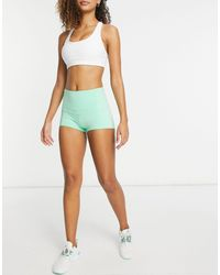 I Saw It First High Waisted Active Shorts - Green