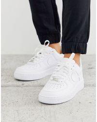 Nike Scarpa Air Force 1 07 da donna - Bianco