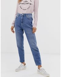 Superdry Ruby Slim Mom Jeans - Blue