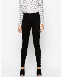 Just Female Stroke Skinny Jeans In Black