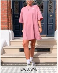 The North Face T-shirt Dress - Pink