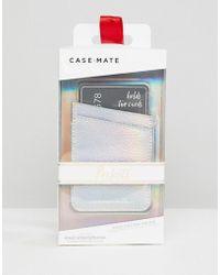 Case-Mate - Tasca per telefono iridescente - Lyst