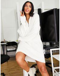 NA-KD X Jasmin Azazim - Vestito corto - Bianco