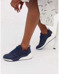 Vero Moda Contrast Trainers - Blue