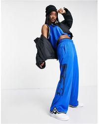 Nike Sisterhood Wide Leg Track Pants - Blue