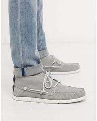 UGG Leather Chukka Shoes - Grey