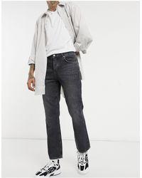 ASOS Bootcut Jeans Met Zwarte Wassing