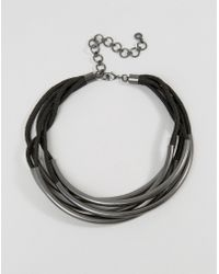 Pilgrim - Multi Layered Tube Necklace - Lyst