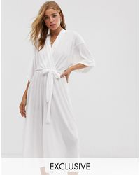 Another Reason Relaxed Jumpsuit - White