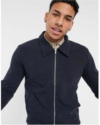Jack & Jones - Темно-синяя Куртка На Сквозной Молнии Premium (от Комплекта)-темно-синий - Lyst