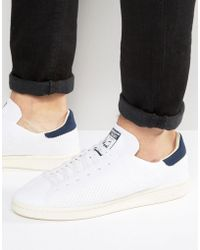 adidas Originals - Stan Smith Og Primeknit Trainers In White S75148 - Lyst