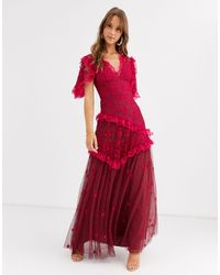 Needle & Thread Robe - Rouge