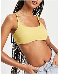 Chelsea Peers Bikini Top - Yellow