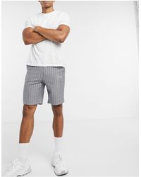 Only & Sons Co-ord Skinny Sweat Short - Grey