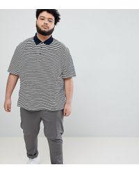 Jacamo Feeder - Polo a righe - Bianco