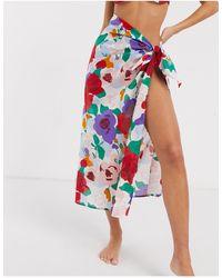 Faithfull The Brand Faithfull Floral Sarong - Multicolour
