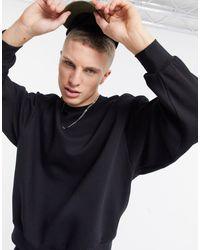 River Island - Sweat-shirt oversize - Lyst