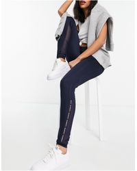 Lacoste Panelled leggings - Blue