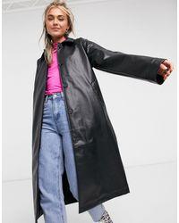 Monki Amira - Cappotto nero