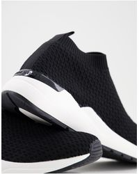 KG by Kurt Geiger Kast Knitted Trainers - Black