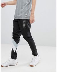 PUMA - Heritage Joggers In Black 57500601 - Lyst