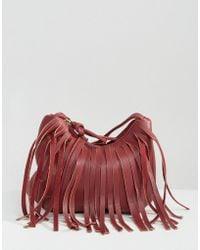 Yoki Fashion - Fringed Cross Body Bag - Lyst